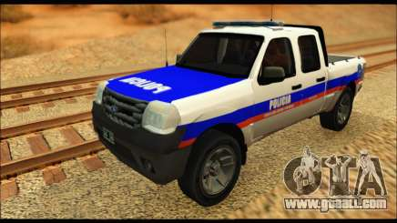 Ford Ranger 2011 Policia Bonaerense for GTA San Andreas