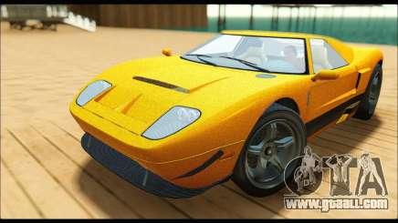 Vapid Bullet Gt (GTA V TBoGT) for GTA San Andreas