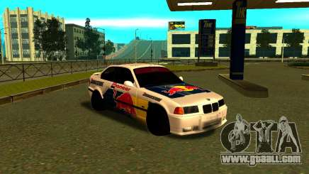 BMW M3 E36 RedBull for GTA San Andreas