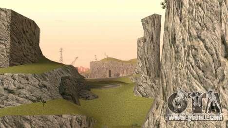 Greening the desert for GTA San Andreas