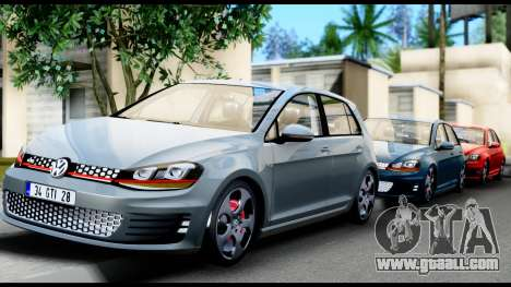 Volkswagen Golf GTI 2015 for GTA San Andreas side view