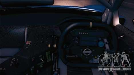 Nissan Skyline GTR-34 2003 for GTA San Andreas back view
