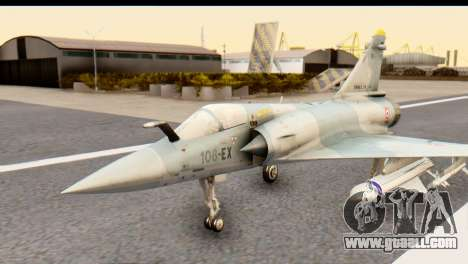 Dassault Mirage 2000-5 for GTA San Andreas