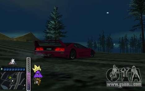 C-HUD Lite SWAG for GTA San Andreas third screenshot
