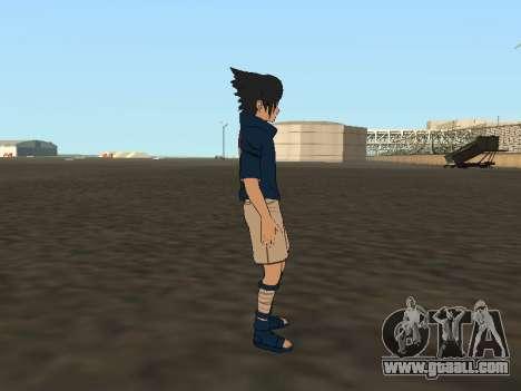 Sasuke Uchiha for GTA San Andreas forth screenshot