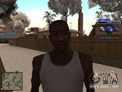 C-HUD Russia for GTA San Andreas forth screenshot