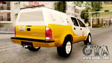 Toyota Hilux Meraclo Utility 2010 for GTA San Andreas left view