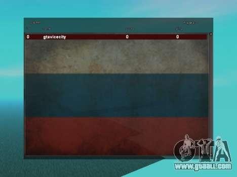 SampGUI Flag Of Russia for GTA San Andreas