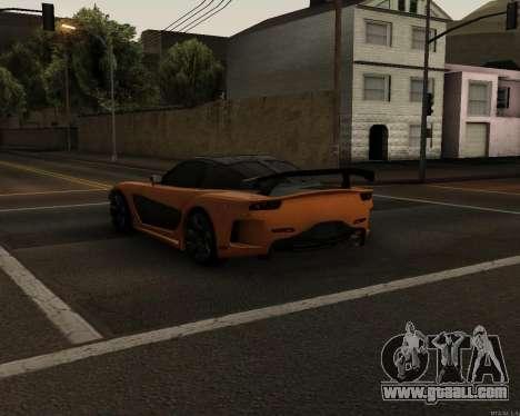 Mazda RX-7 VeilSide Drift for GTA San Andreas back left view
