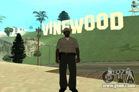 Black Police All for GTA San Andreas eighth screenshot