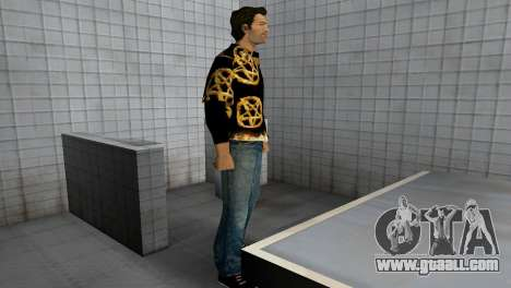 Pentagram Shirt for GTA Vice City forth screenshot
