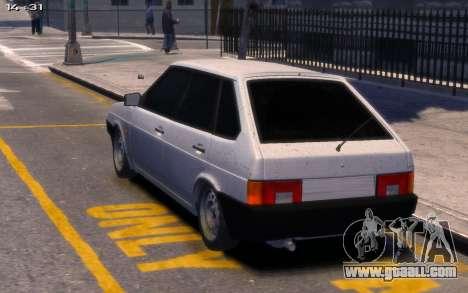 Lada 2109 for GTA 4 left view