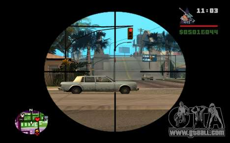 AWP Dragon Lore CS:GO for GTA San Andreas third screenshot