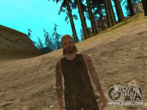 Cletus Ewing de GTA V for GTA San Andreas third screenshot