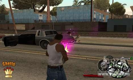 C-HUD Ghetto King for GTA San Andreas