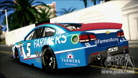 Chevrolet SS NASCAR Sprint Cup Series 2013-2014 for GTA San Andreas left view