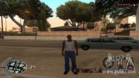 С-HUD Terror for GTA San Andreas second screenshot