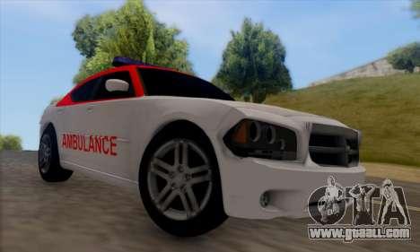 Dodgle Charger Ambulance for GTA San Andreas