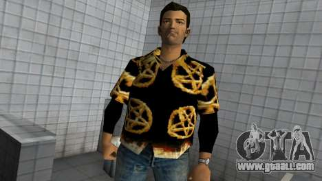 Pentagram Shirt for GTA Vice City