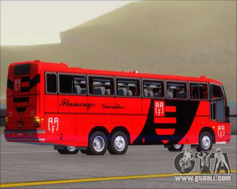 Marcopolo Paradiso G4 Flamengo Guarulhos for GTA San Andreas back left view