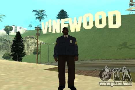 Black Police All for GTA San Andreas second screenshot