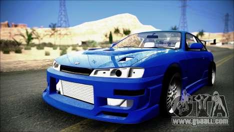 Nissan Silvia S14 for GTA San Andreas right view