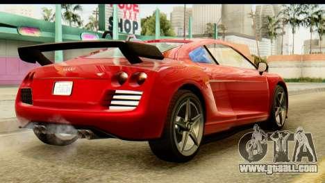 GTA 5 Obey 9F Coupe SA Mobile for GTA San Andreas left view