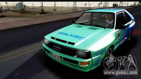 Audi Sport Quattro B2 (Typ 85Q) 1983 [IVF] for GTA San Andreas