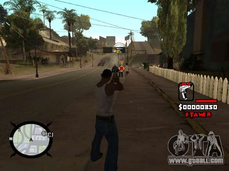HUD by LokoMoko for GTA San Andreas third screenshot