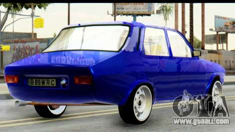 Dacia 1300 B 89 WRC for GTA San Andreas left view