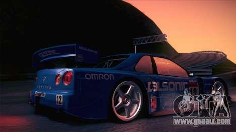 Nissan Skyline GTR-34 2003 for GTA San Andreas