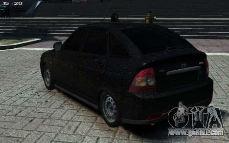 VAZ Priora 2172 for GTA 4 left view