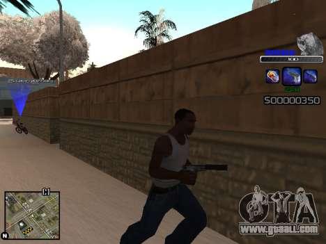 C-HUD Russia for GTA San Andreas third screenshot