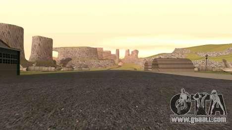 Greening the desert for GTA San Andreas sixth screenshot