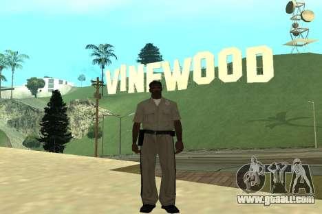Black Police All for GTA San Andreas third screenshot