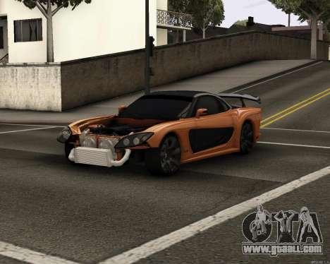 Mazda RX-7 VeilSide Drift for GTA San Andreas