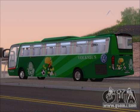 Busscar Vissta Buss LO Palmeiras for GTA San Andreas right view