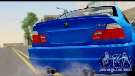 BMW M3 Stance for GTA San Andreas back left view