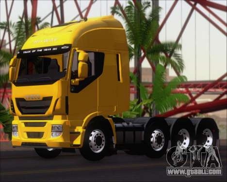 Iveco Stralis HiWay 8x4 for GTA San Andreas engine