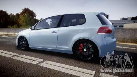 Volkswagen Golf R for GTA 4 left view
