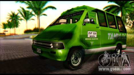 Toyota Microbus for GTA San Andreas