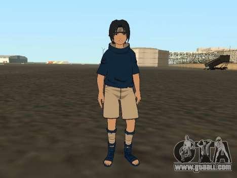 Sasuke Uchiha for GTA San Andreas