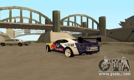 Chevrolet Camaro ZL1 RedBull for GTA San Andreas