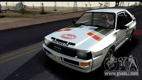 Audi Sport Quattro B2 (Typ 85Q) 1983 [IVF] for GTA San Andreas upper view