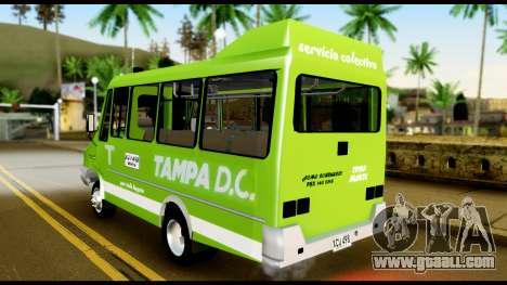 Iveco Minibus for GTA San Andreas