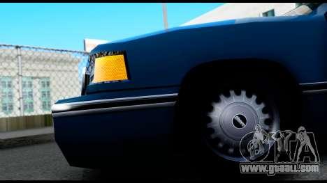Elegant Station Wagon for GTA San Andreas back view