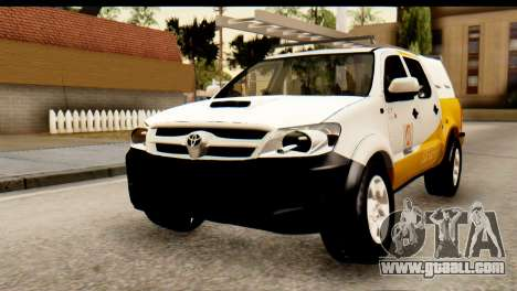 Toyota Hilux Meraclo Utility 2010 for GTA San Andreas