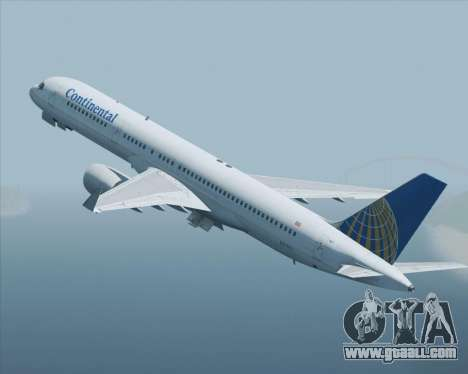 Boeing 757-200 Continental Airlines for GTA San Andreas