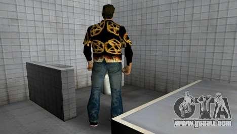 Pentagram Shirt for GTA Vice City fifth screenshot