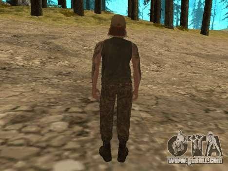 Cletus Ewing de GTA V for GTA San Andreas second screenshot
